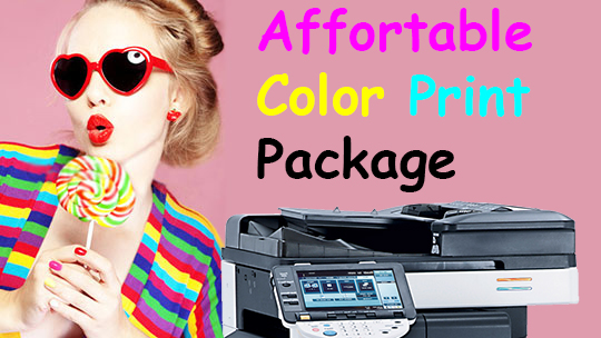 Affordable Photocopier Color Machine Promotion Offer Packages